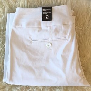 The Limited Exact Stretch White Pants Size 2